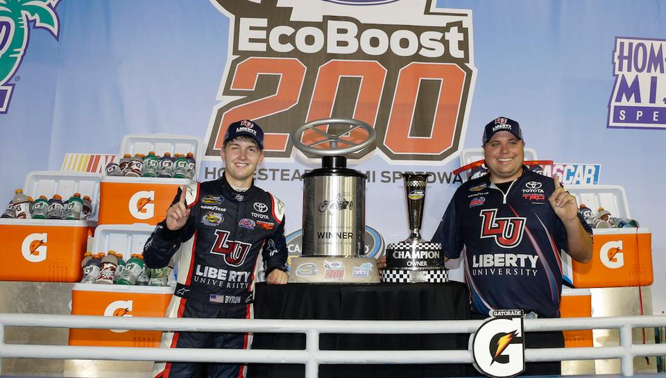 Redemption for Byron As He Wins Homestead and Owner's Championship for KBM