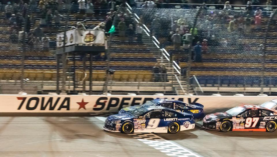 Byron and McReynolds Claim Victories in K&N Iowa Duel