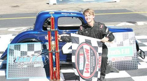 Byron Wins U.S. Legends Young Lions Race of Champions