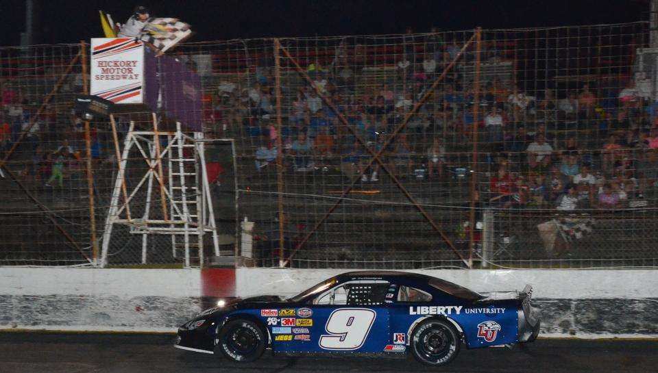Byron Earns Two Podium Finishes Including a Big Win at Hickory