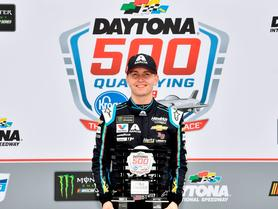 Byron Grabs First Career NASCAR Cup Series Pole