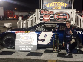 Byron Wins at South Boston Speedway; Teammate Berry Makes it a JR Motorsports Sweep