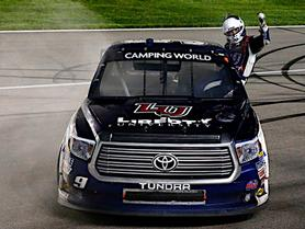 WILLIAM BYRON EARNS FIRST TRUCK SERIES WIN AT KANSAS