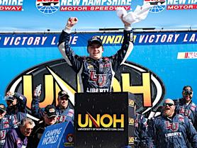 Byron Dominates at New Hampshire in First Chase Race