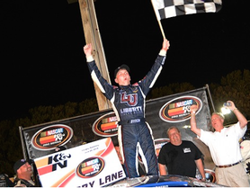 Byron Leaves No Doubt with Third K&N East Win
