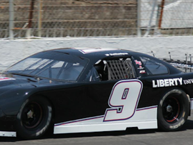 Byron Finishes 2nd in Super Late Model at Motor Mile Speedway