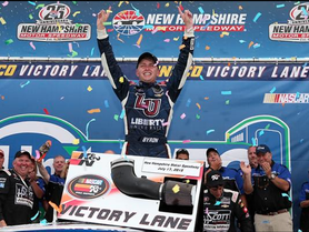 Byron Wins 2015 Sunoco Rookie of the Year