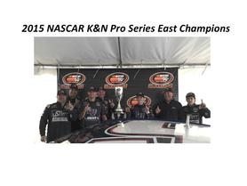 William Byron Wins 2015 NASCAR K&N Pro Series Championship