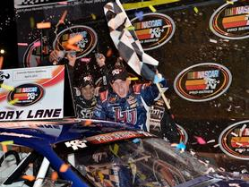 William Byron Captures First K&N Victory at Greenville