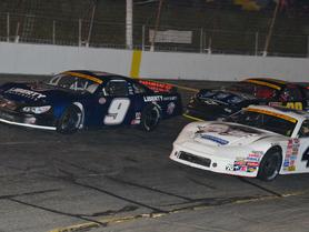Third-Consecutive Runner-Up Finish for Byron at Hickory Motor Speedway