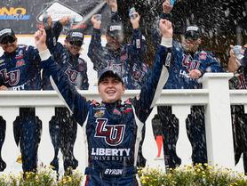 Byron Breaks Rookie Record with Fifth Win at Pocono