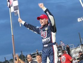 First Super Late Model Win for Byron at Hickory