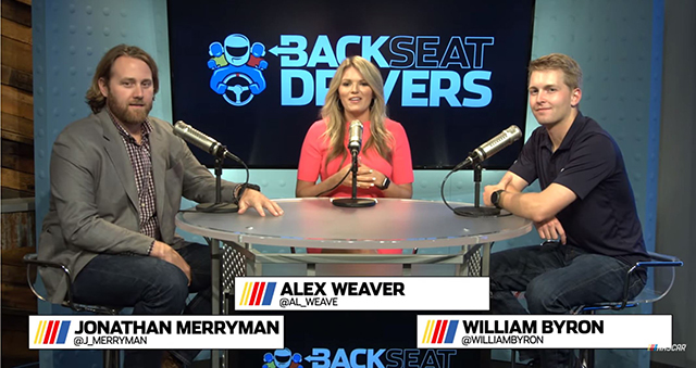 William Byron on NASCAR's Backseat Drivers: Full Show (14:30)