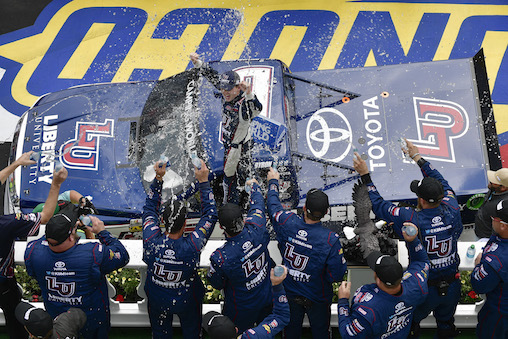 Record-Breaking Fifth NCWTS Win at Pocono (1:28)